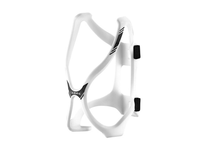 Lezyne Flow Bottle Cage HP white